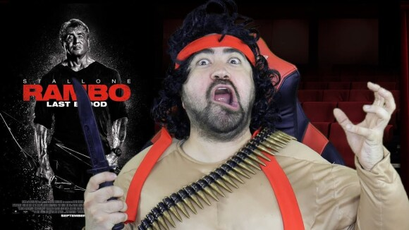 AngryJoeShow - Rambo: last blood angry review