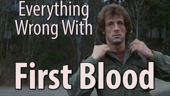 CinemaSins - Everything wrong with first blood in 13 minutes or less