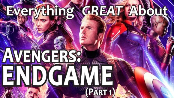 CinemaWins - Everything great about avengers: endgame! (part 1)