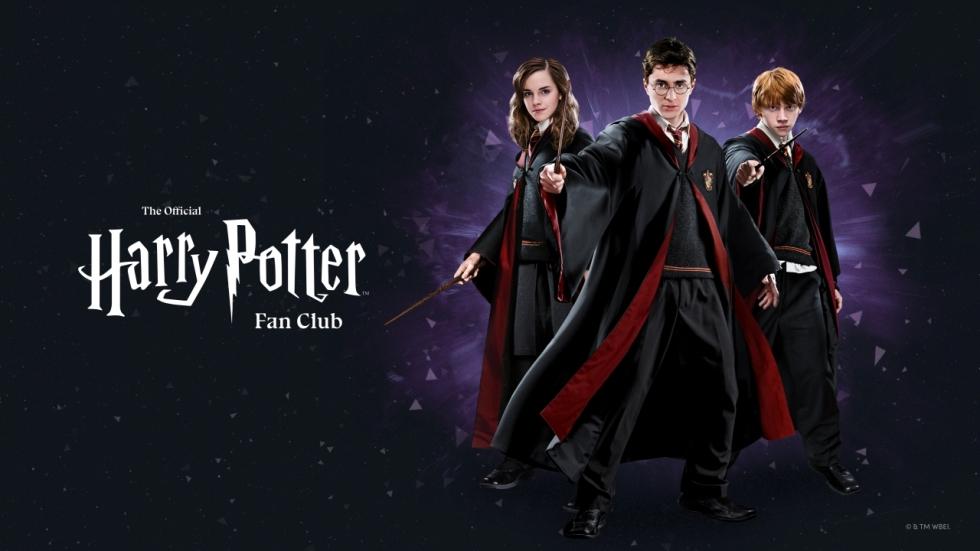 'Harry Potter' krijgt officiële, betaalde fanclub en nieuwe online-wereld