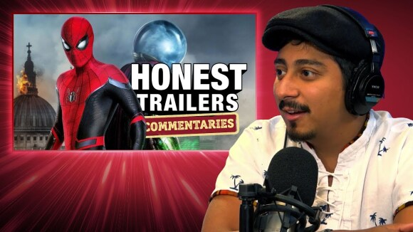 ScreenJunkies - Honest trailers commentary | spider-man: far from home