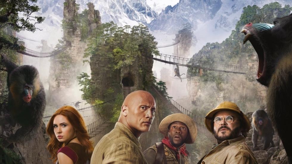 Nieuwe poster 'Jumanji: Next Level' hint naar ijzig avontuur!