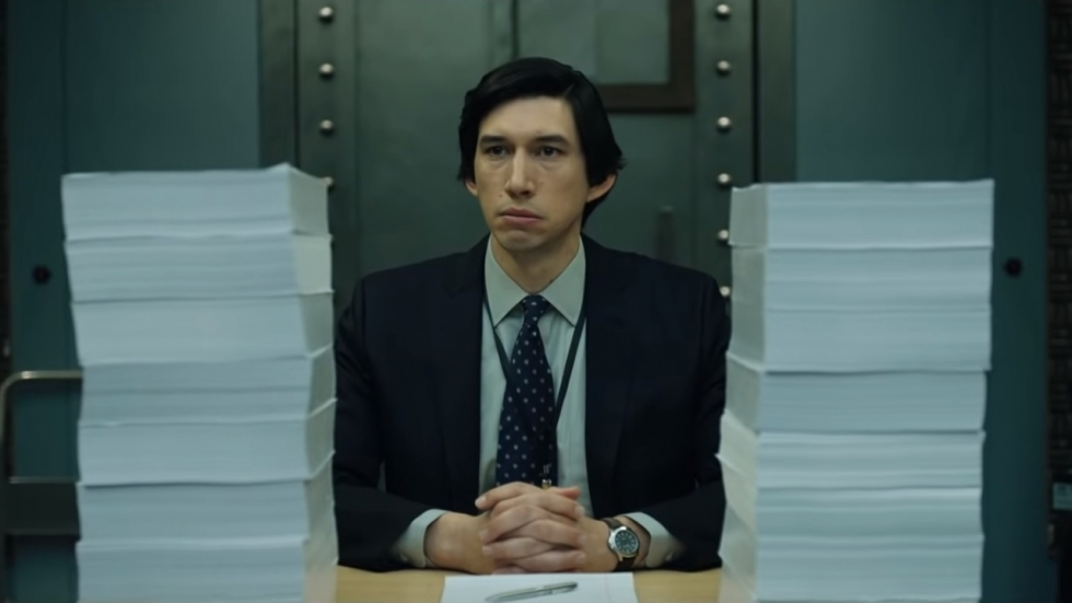 Adam Driver (Star Wars) in trailer 'The Report'