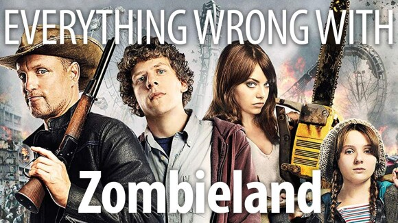 CinemaSins - Everything wrong with zombieland in nut up or shut up minutes