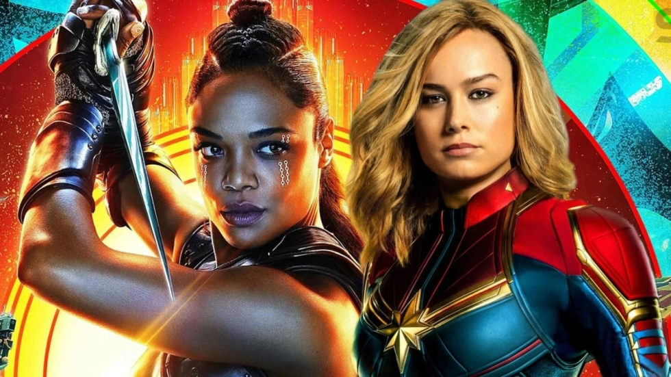 Bombastische 'Thor: Love and Thunder' zonder relatie Valkyrie en Captain Marvel?