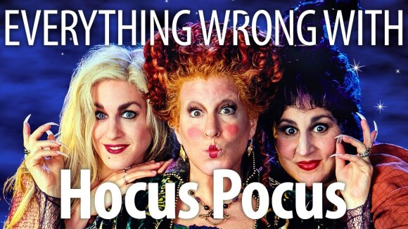 CinemaSins - Everything wrong with hocus pocus in however many minutes it takes