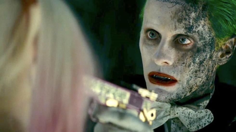 Gloednieuwe foto van Jared Leto als Joker in 'Suicide Squad'