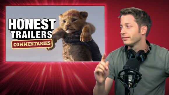 ScreenJunkies - Honest trailers commentary | the lion king (2019)