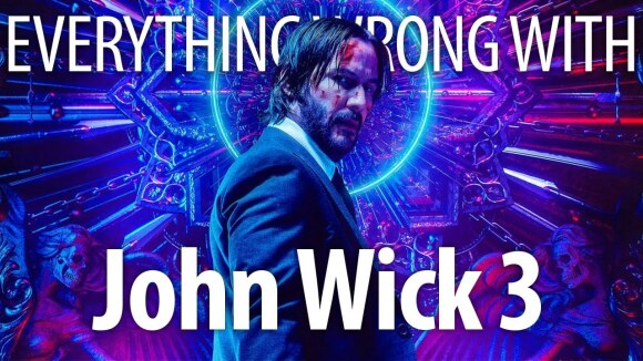 CinemaSins - Everything wrong with john wick 3: parabellum