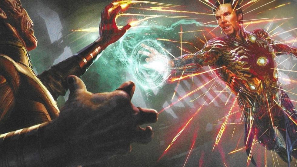 Doctor Strange bijna in Iron Man-harnas in 'Avengers: Infinity War'
