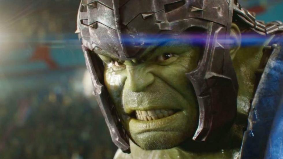 Hulk en Banner vochten tegen elkaar in 'Ragnarok'-arena in eerdere versie 'Infinity War'