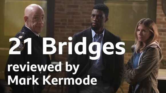 Kremode and Mayo - 21 bridges reviewed by mark kermode