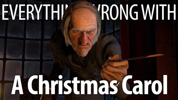 CinemaSins - Everything wrong with disney's a christmas carol in bah humbug minutes or less