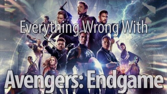 CinemaSins - Everything wrong with avengers: endgame in time travel minutes or less