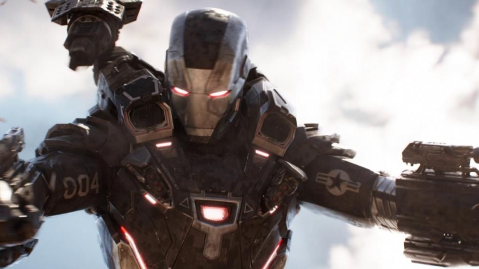 War Machine bijna doormidden gehakt in 'Avengers: Infinity War'