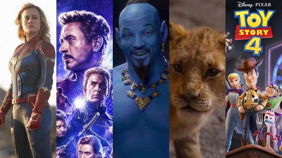 2019 mogelijk recordjaar met 10 films boven de $1 miljard: het 'nieuwe normaal'?