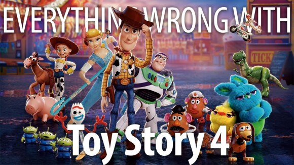CinemaSins - Everything wrong with toy story 4 in forky minutes or less