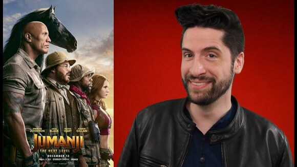 Jeremy Jahns - Jumanji: the next level - movie review