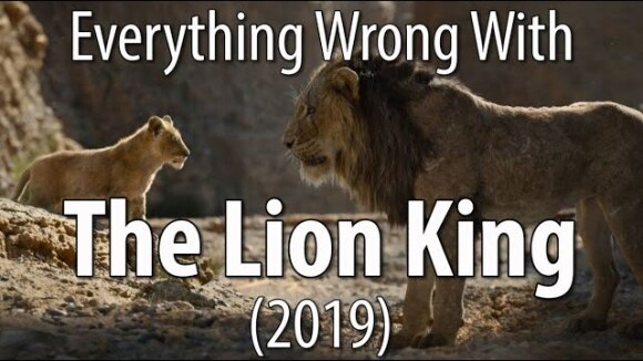 CinemaSins - Everything wrong with the lion king (2019) in the circle of minutes