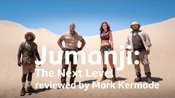 Kremode and Mayo - Jumanji: the next level reviewed by mark kermode