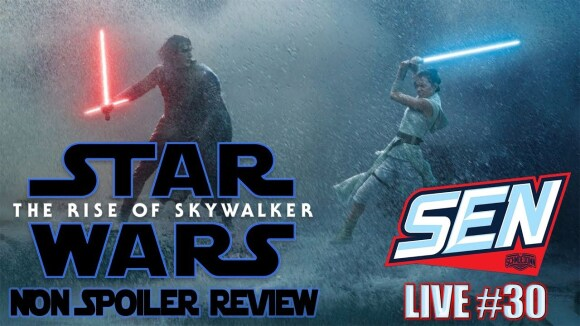 Schmoes Knows - Star wars the rise of skywalker- movie review non spoiler -sen live #30