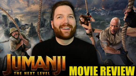 Chris Stuckmann - Jumanji: the next level - movie review