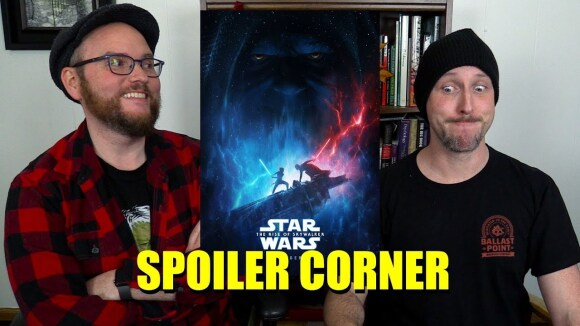 Channel Awesome - Star wars: the rise of skywalker - spoiler corner