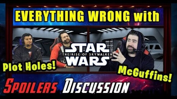 AngryJoeShow - Everything wrong w/ star wars: rise of skywalker!