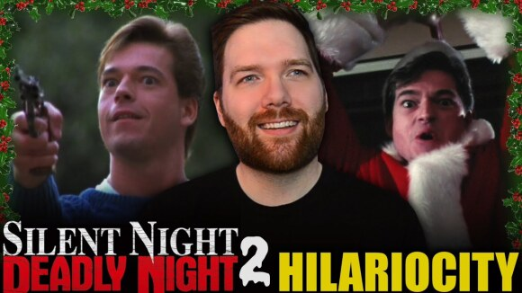 Chris Stuckmann - Silent night, deadly night part 2 - hilariocity review