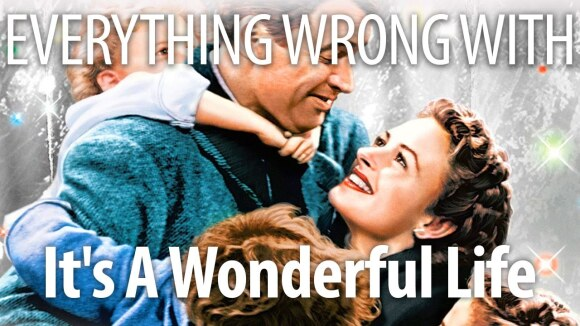 CinemaSins - Everything wrong with it's a wonderful life in merry christmas minutes