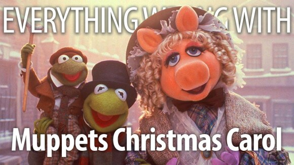CinemaSins - Everything wrong with the muppet christmas carol in adorable minutes