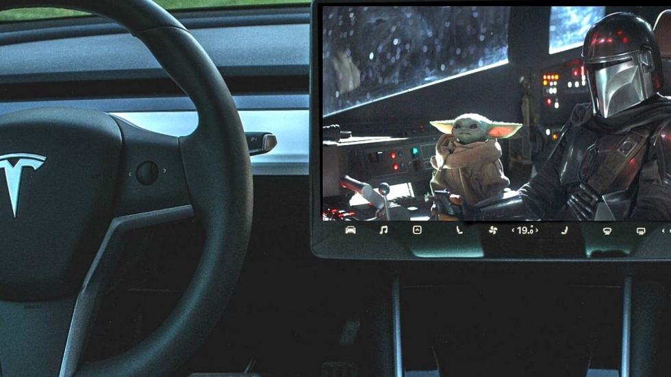 Tesla-rijders opgelet: Disney+ binnenkort op je display?