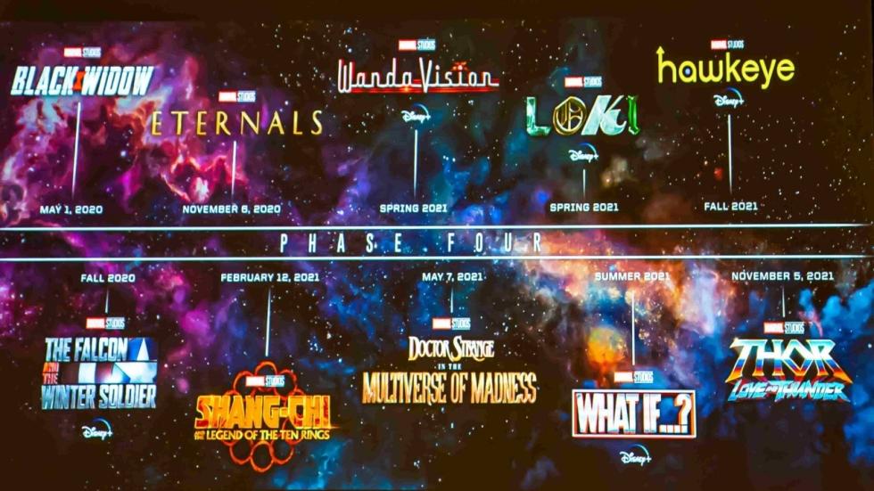Marvel Cinematic Universe - Phase 4: Dit zijn de films en series in 2021!