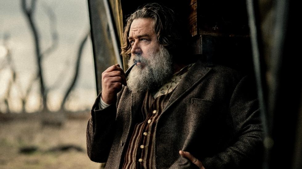 George MacKay, Russell Crowe en Nicolas Hoult in trailer 'True History of the Kelly Gang'