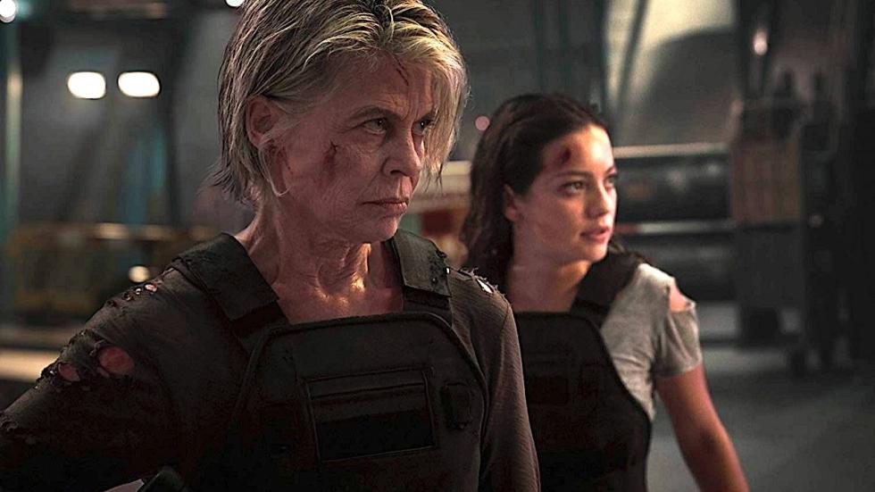 Sarah Connor op de vlucht in verwijderde scène 'Terminator: Dark Fate'