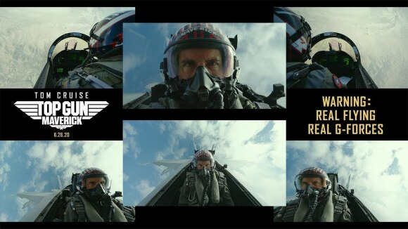 Top Gun: Maverick 'Real Flying. Real G-Forces. Pure Adrenaline'
