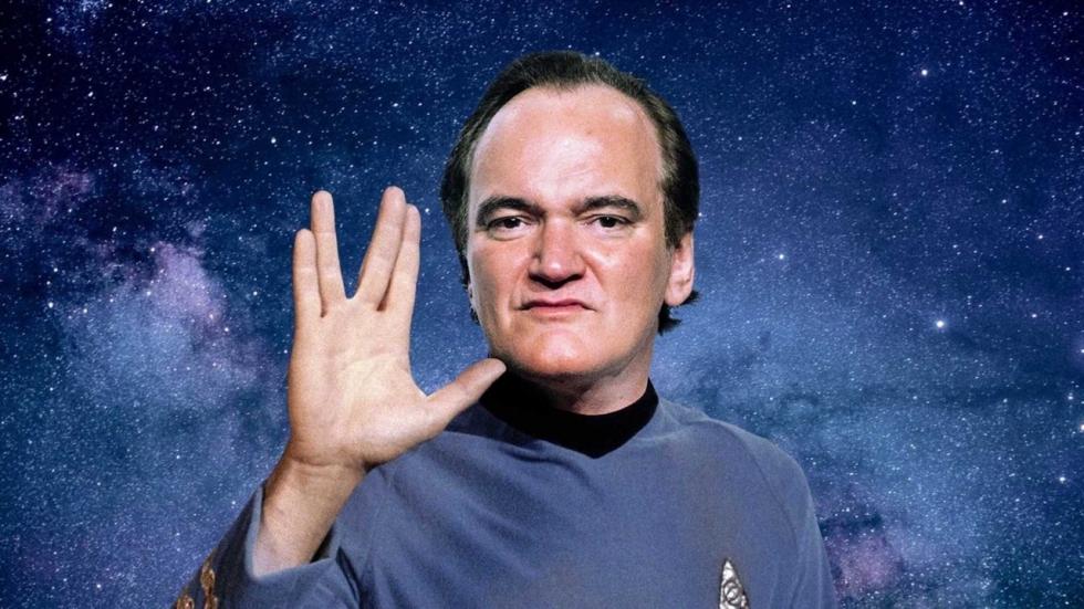 Quentin Tarantino laat zijn bikkelharde 'Star Trek'-film vallen