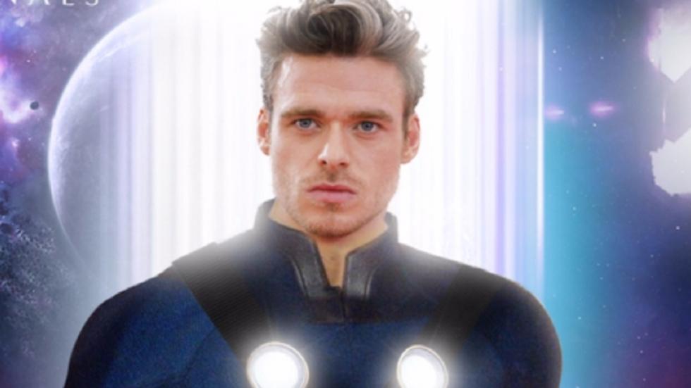 Eerste blik op zwevende Ikaris in Marvel-film 'Eternals'