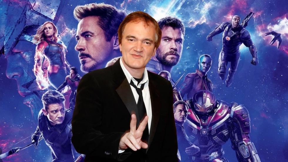 Quentin Tarantino over oorlog met 'Avengers' en 'Star Wars'