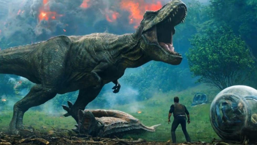 Gave animatron op set 'Jurassic World 3'!