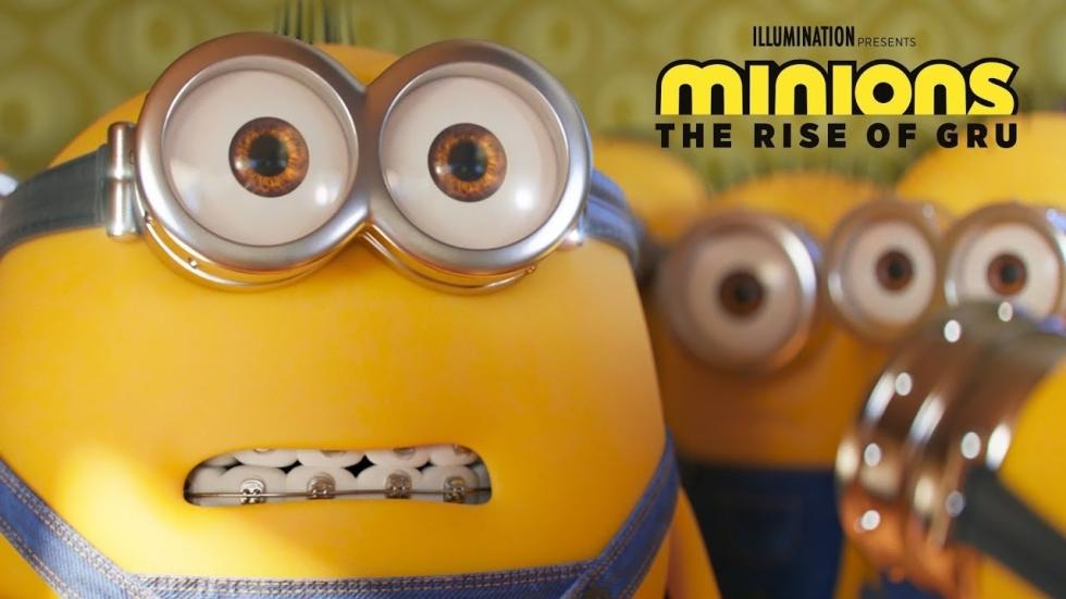 Bekijk hier de eerste beelden van 'Minions: The Rise of Gru'!
