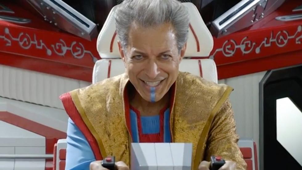 The Grandmaster (Jeff Goldblum) legt het loodje in uitgelekte scène 'Thor: Ragnarok'