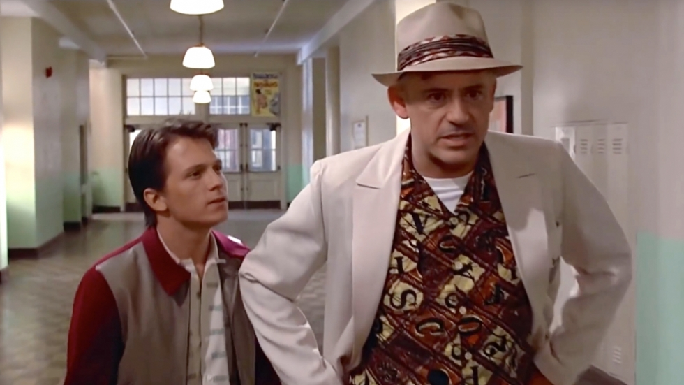Zien: Marvel-duo Tom Holland en Robert Downey Jr. in deepfake 'Back to the Future'