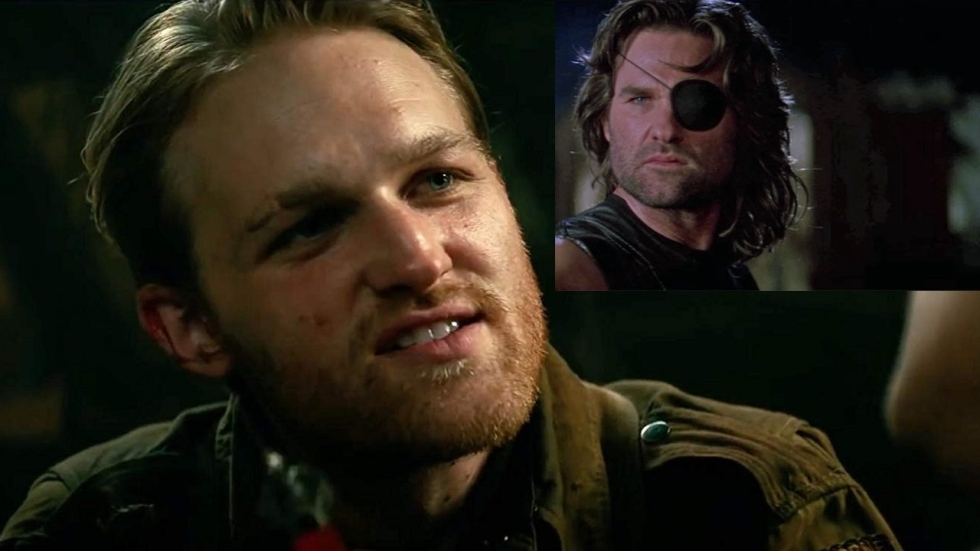 Zoon Kurt Russel als Snake Plissken in 'Escape From New York'-reboot