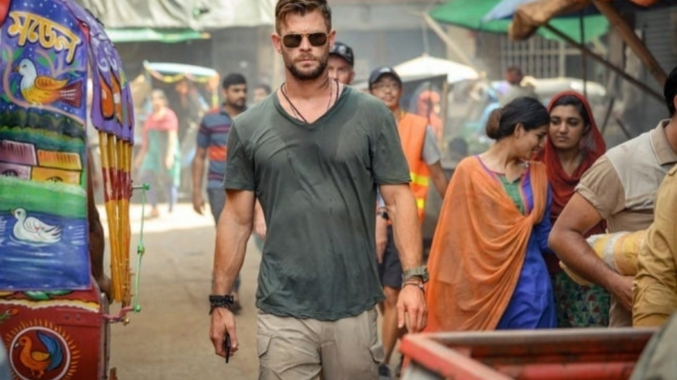 Stoere eerste foto's uit Netflix-thriller 'Extraction' met Chris Hemsworth