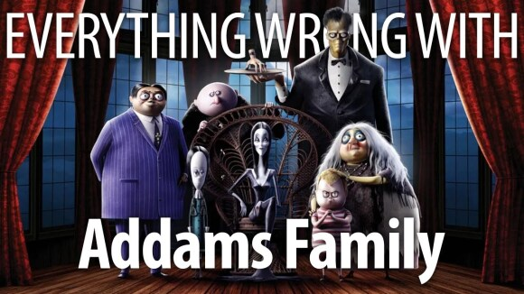 CinemaSins - Everything wrong with the addams family (2019) in creepy & kooky minutes