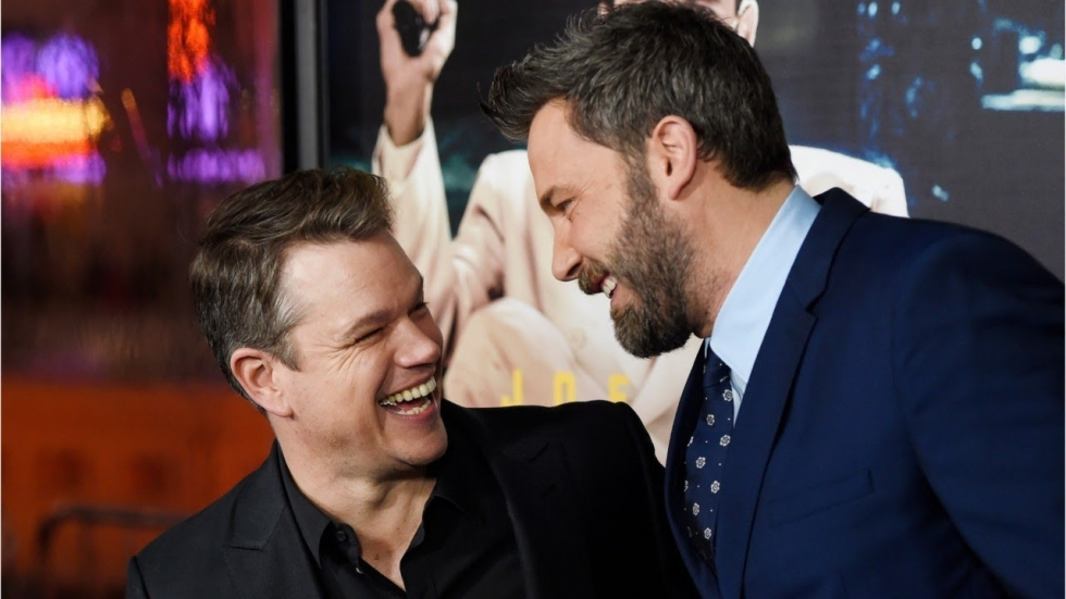 Foto's van middeleeuwse Ben Affleck en Matt Damon in Ridley Scott's 'The Last Duel'