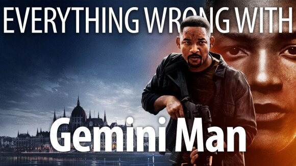CinemaSins - Everything wrong with gemini man in uncanny valley minutes