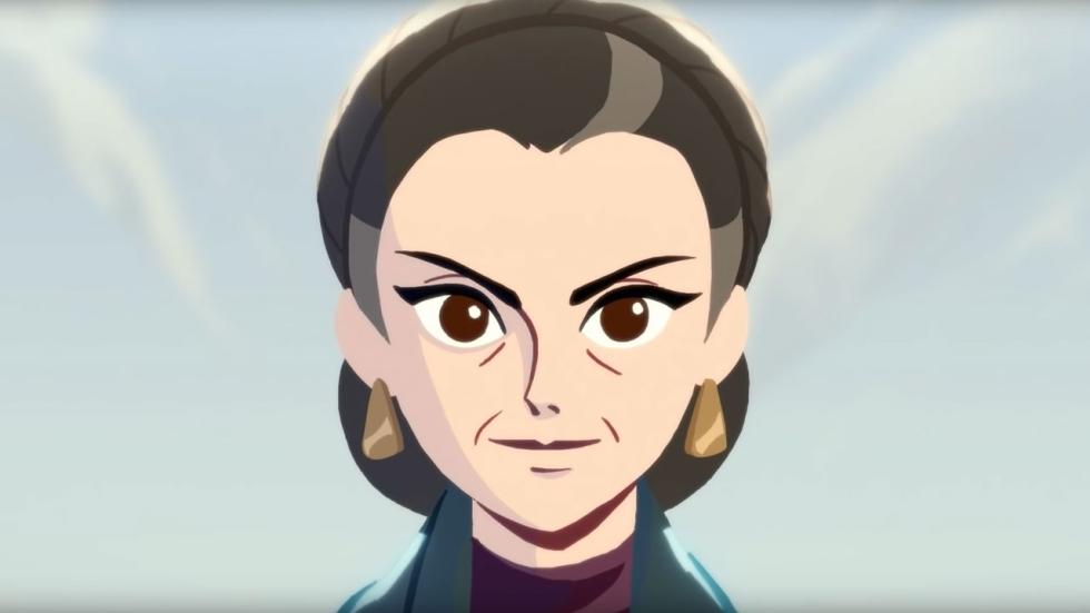 Mooi eerbetoon Carrie Fisher en Leia Organa in korte 'Star Wars'-animatie