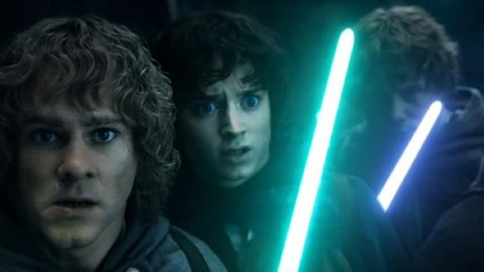Zo ziet 'The Lord of the Rings' eruit met lightsabers!